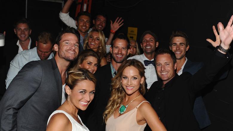 The bachelor cast backstage