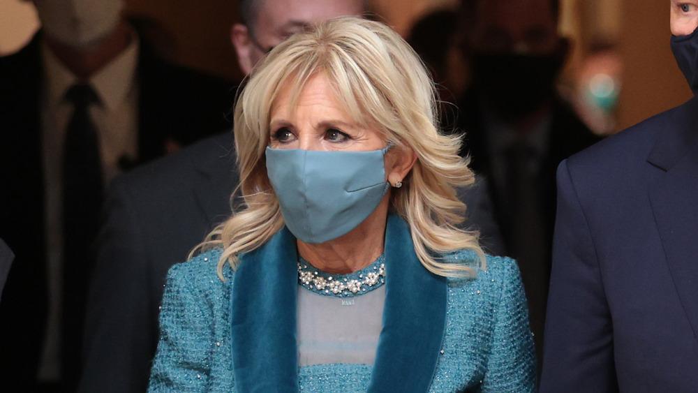 Dr. Jill Biden on inauguration day