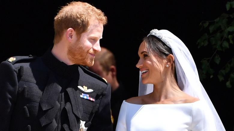 Harry and Meghan, May 2018 royal wedding