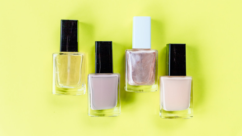 nude nail polishes