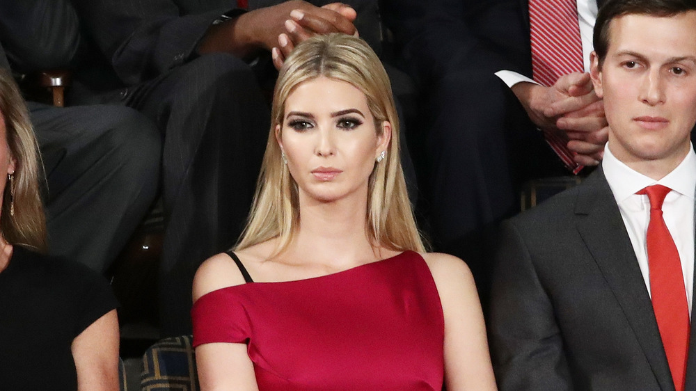 Ivanka Trump in one of her most inappropriate outfits