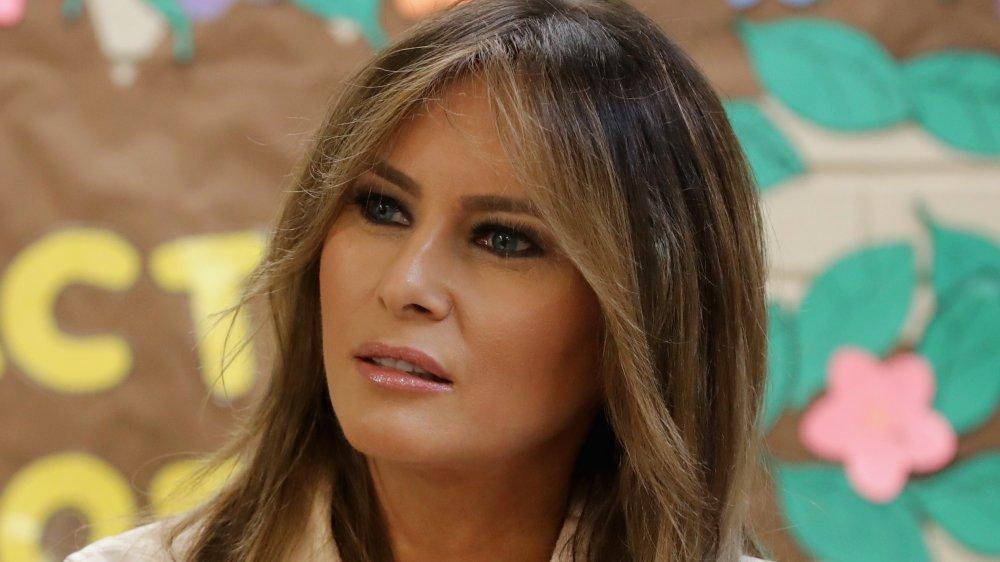 Melanie Trump, a presidential family member