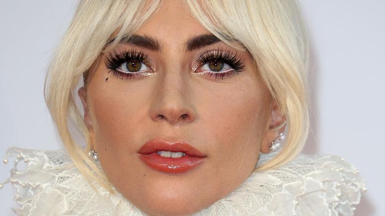 Lady Gaga close up