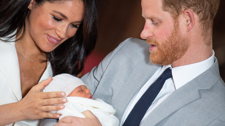 Meghan, Harry, baby Archie