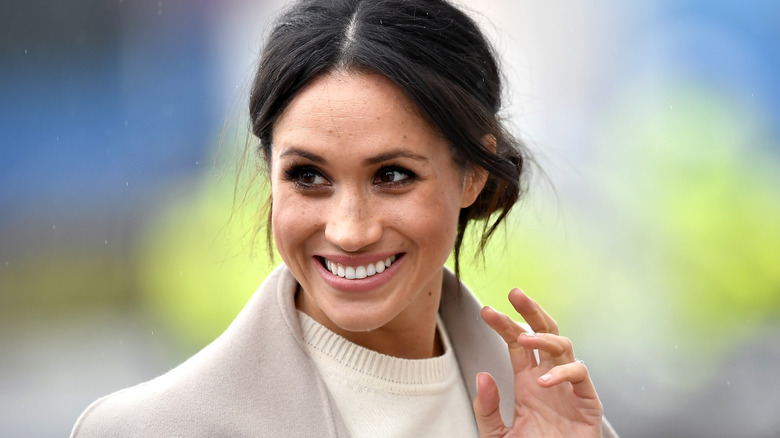 Meghan Markle, who had a stunning transformation in the last decade