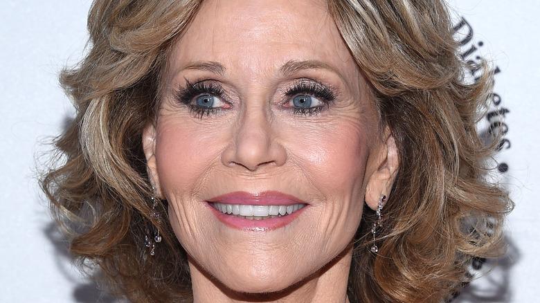 Jane Fonda at a red carpet event
