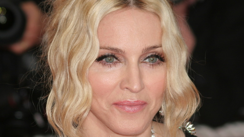 Madonna at the 'I Am Because We Are' premiere
