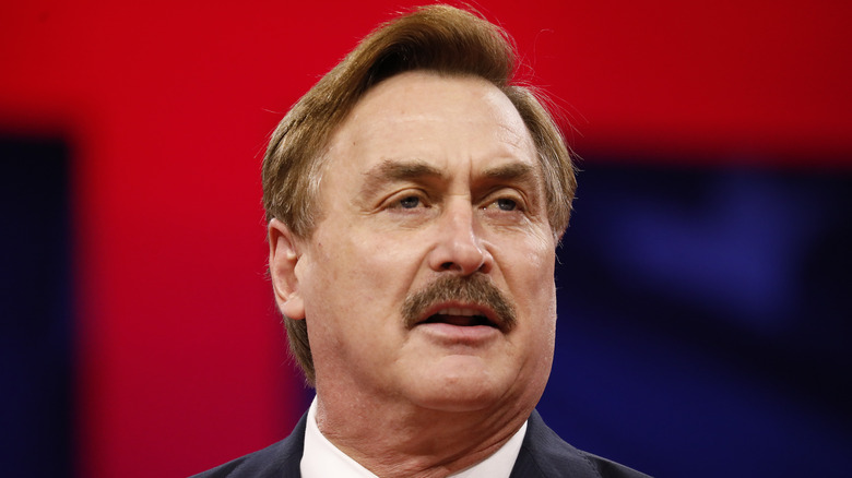MyPillow CEO Mike Lindell close up