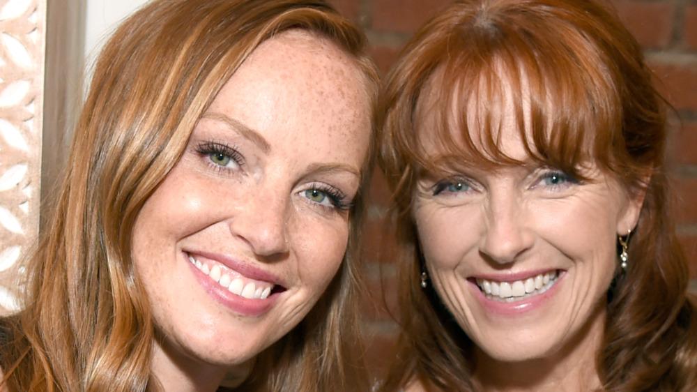 Mina Starsiak-Hawk and Karen Laine smiling