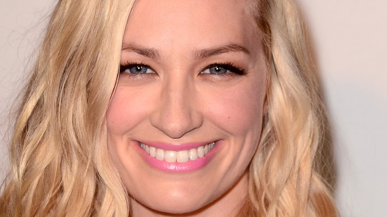 Beth Behrs smiling