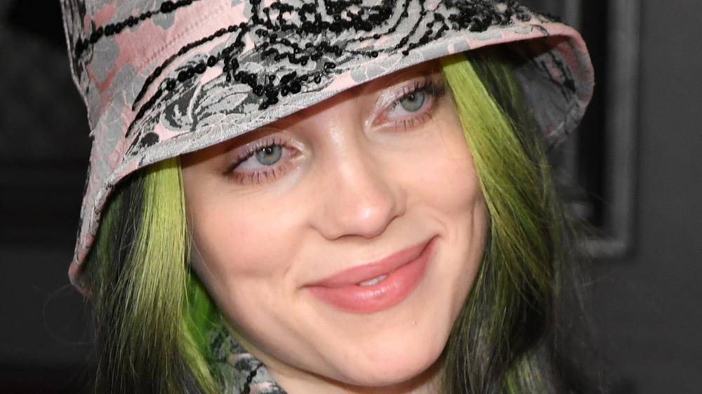 Billie Eilish at Grammys 2021