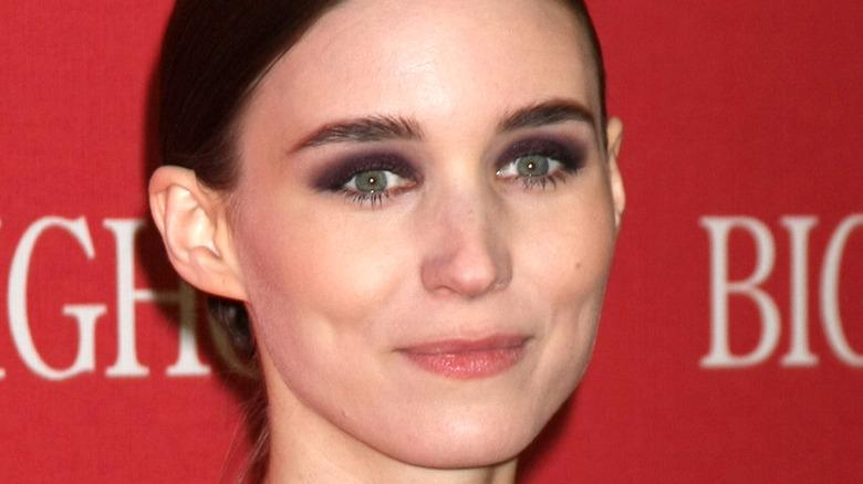 Rooney Mara smiling