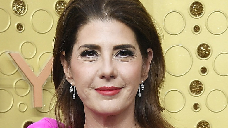Marisa Tomei poses on the red carpet