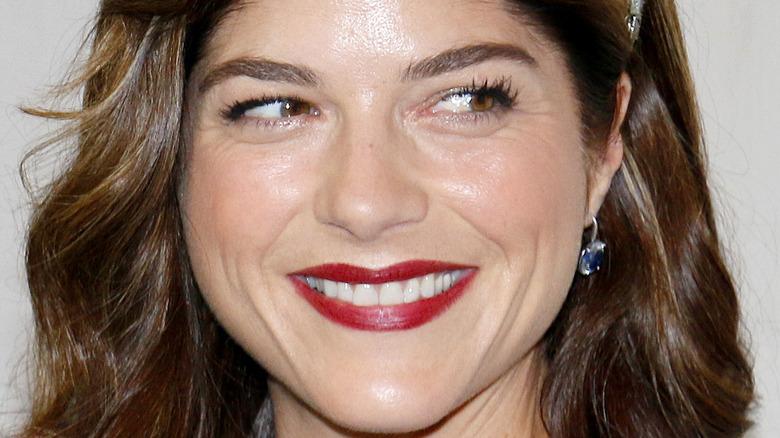 Selma Blair smiling