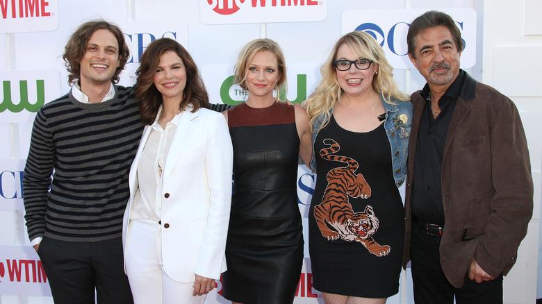 Criminal Minds cast at event