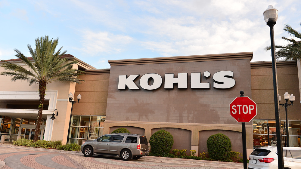 outside of Kohl's store