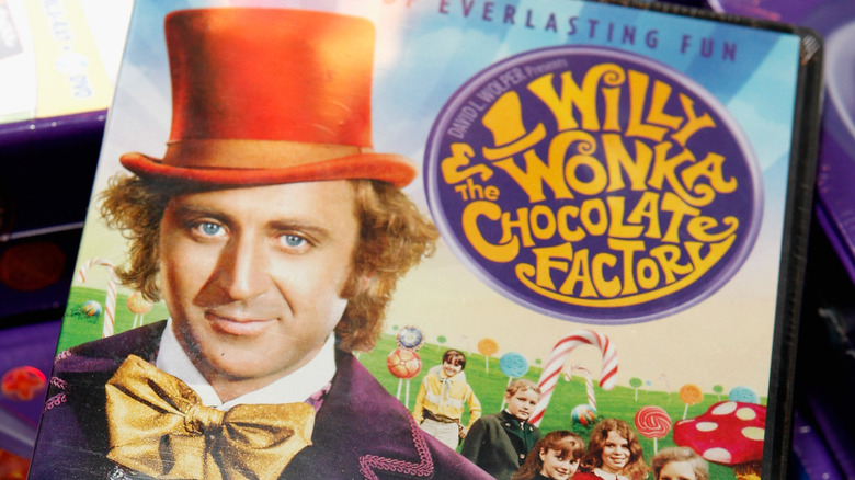 Willy Wonka and the Chocolate Factory cereal box