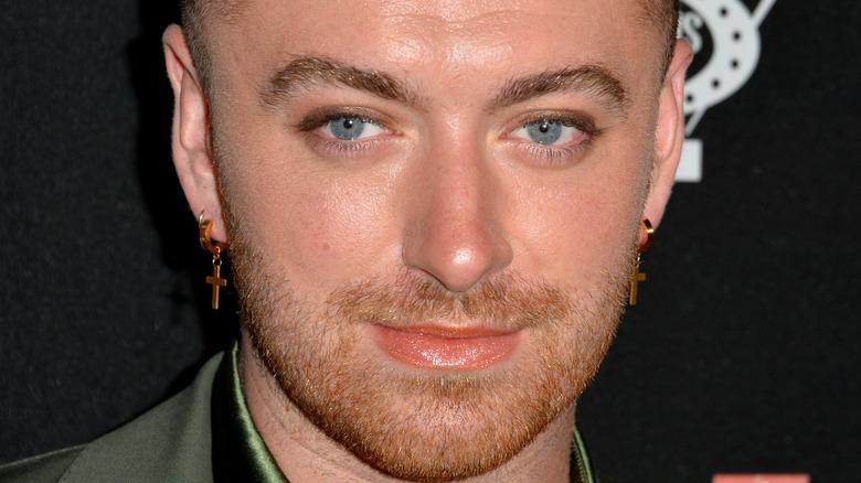 Sam Smith earrings