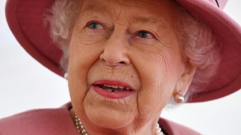 Queen Elizabeth II at royal event