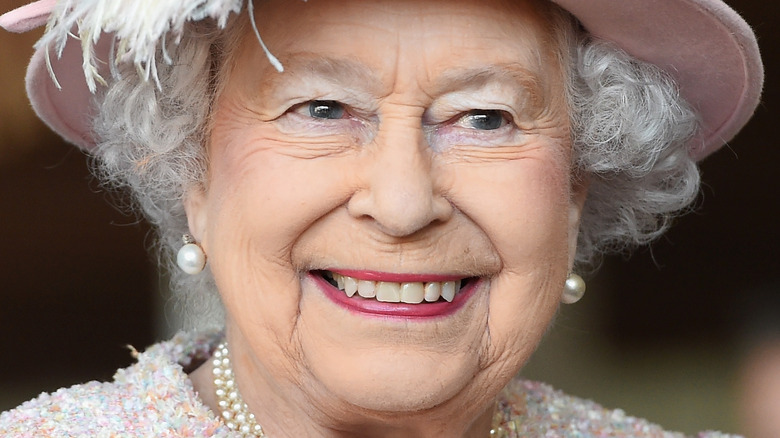 The Queen at a royal event