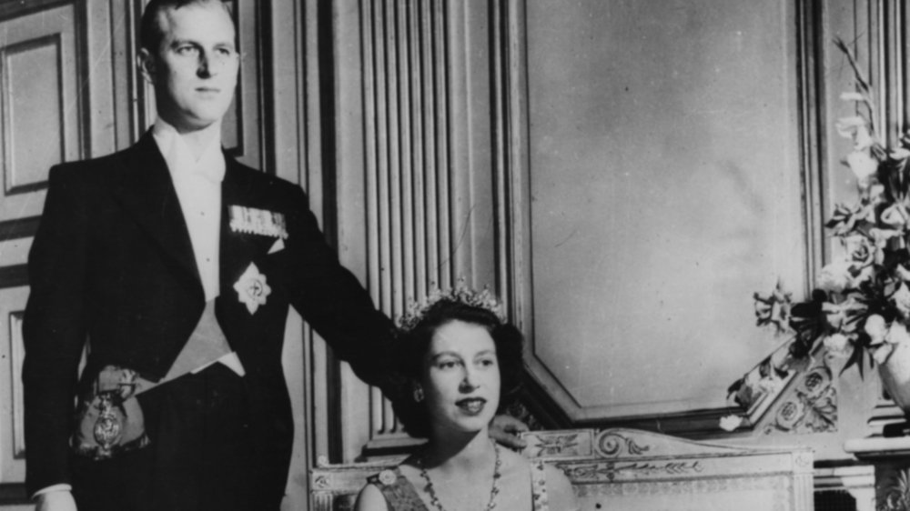 Queen Elizabeth and husband Prince Philip
