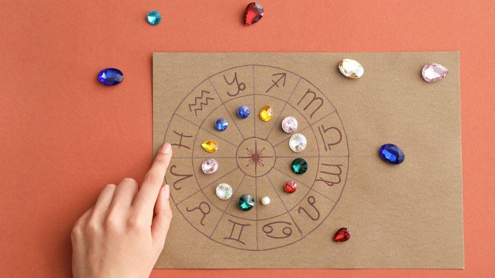 Horoscope with birth stones
