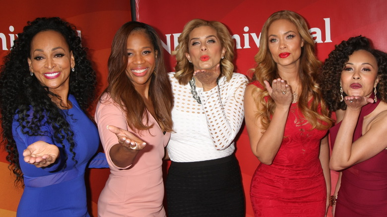 """The cast of """"Real Housewives of Potomac"""""""