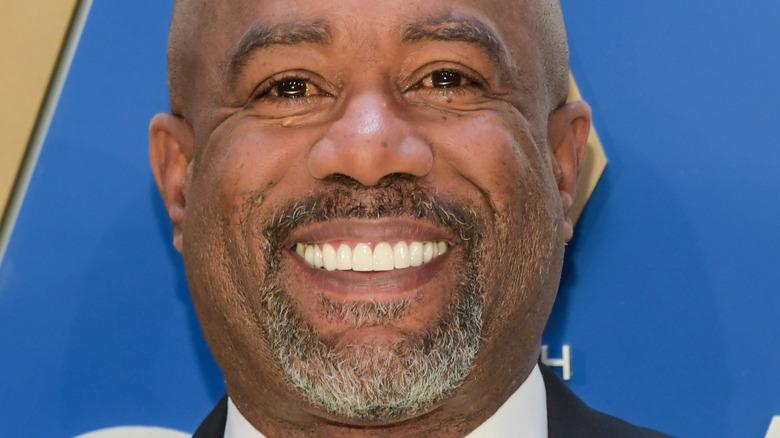 Darius Rucker smiling
