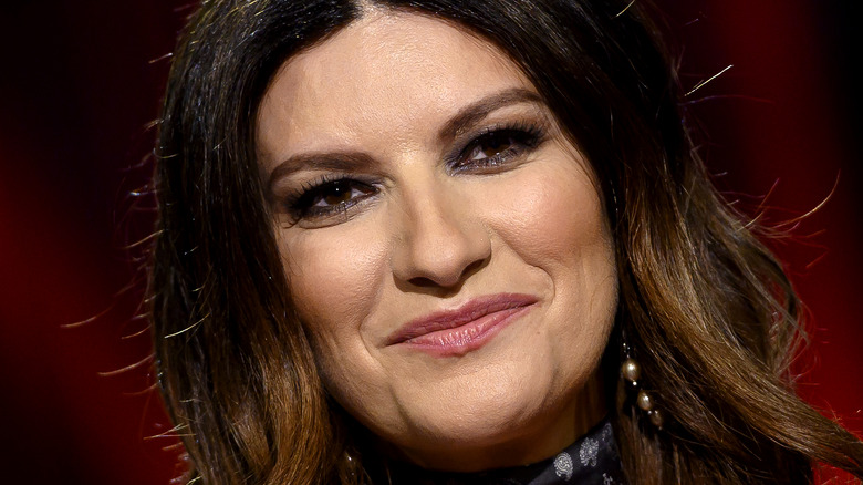 Laura Pausini smiling