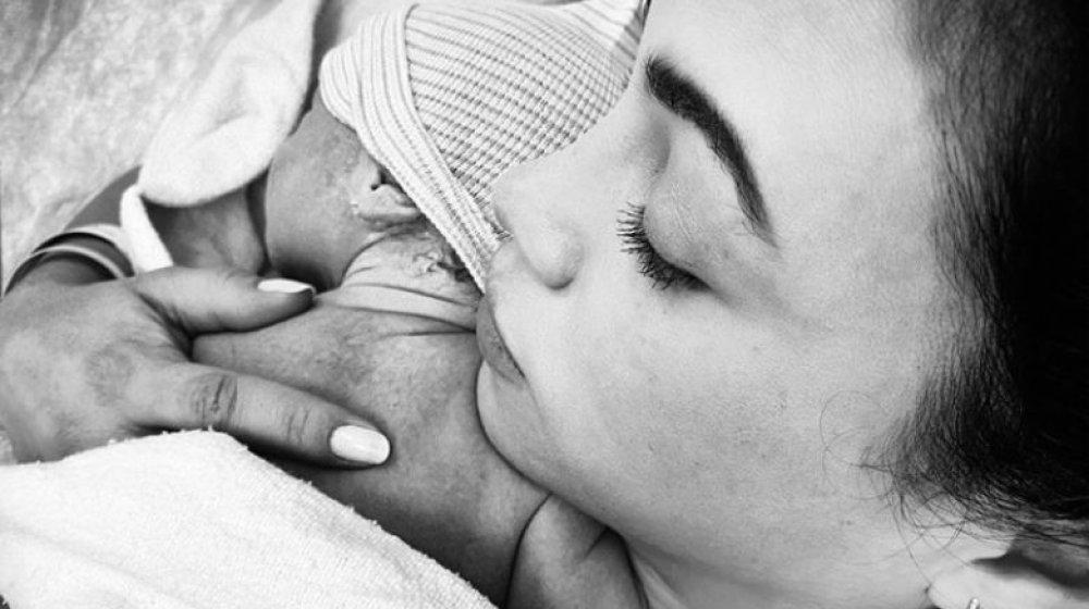 jenna dewan and new baby