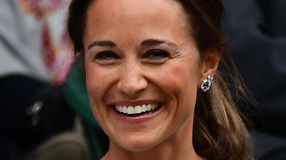 Pippa Middleton smiling