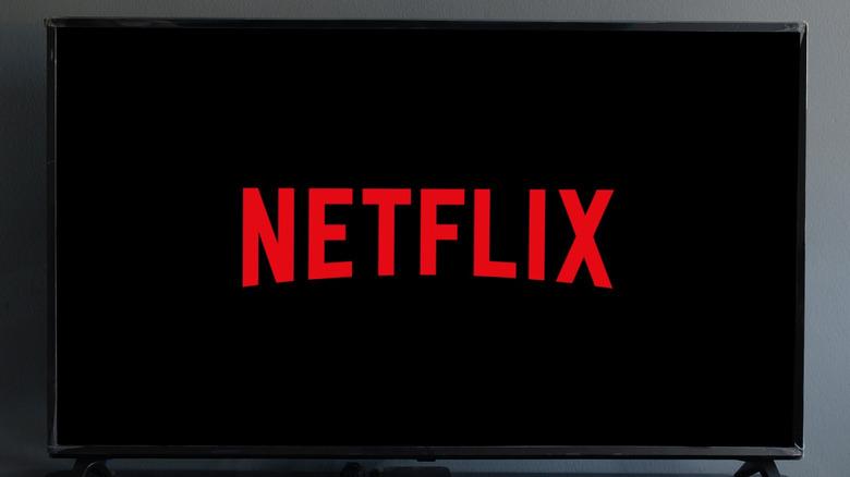 Television loading Netflix