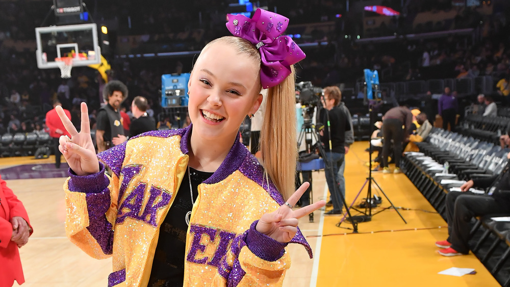 JoJo Siwa Lakers jacket