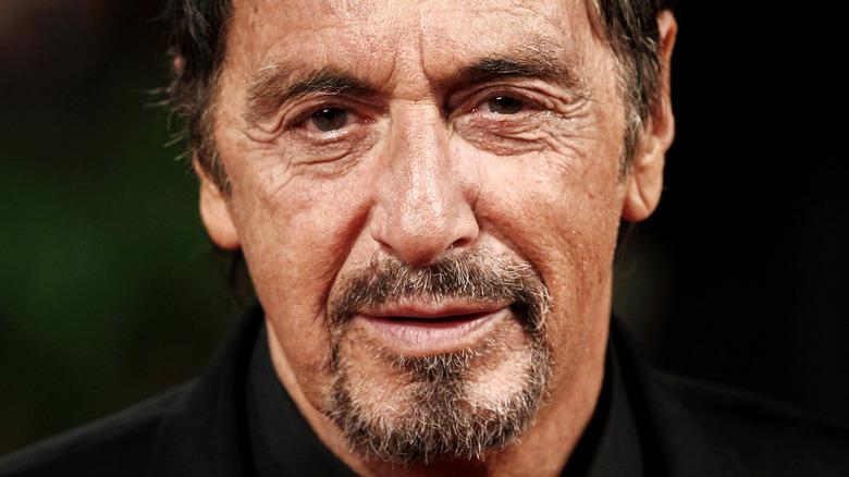 Al Pacino poses