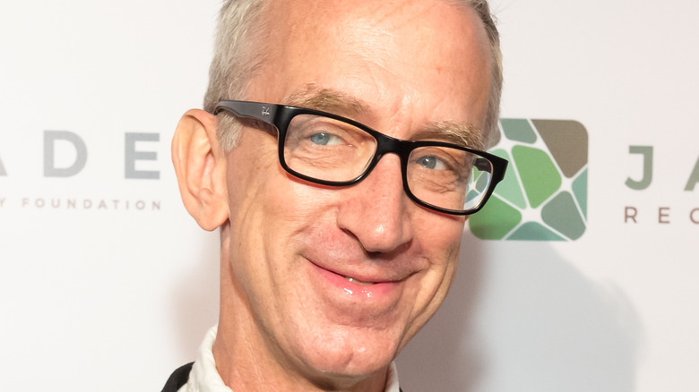 Andy Dick smiling