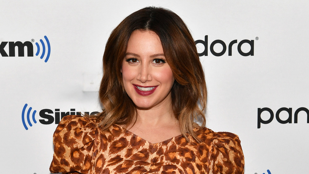 Ashley Tisdale on the red carpet