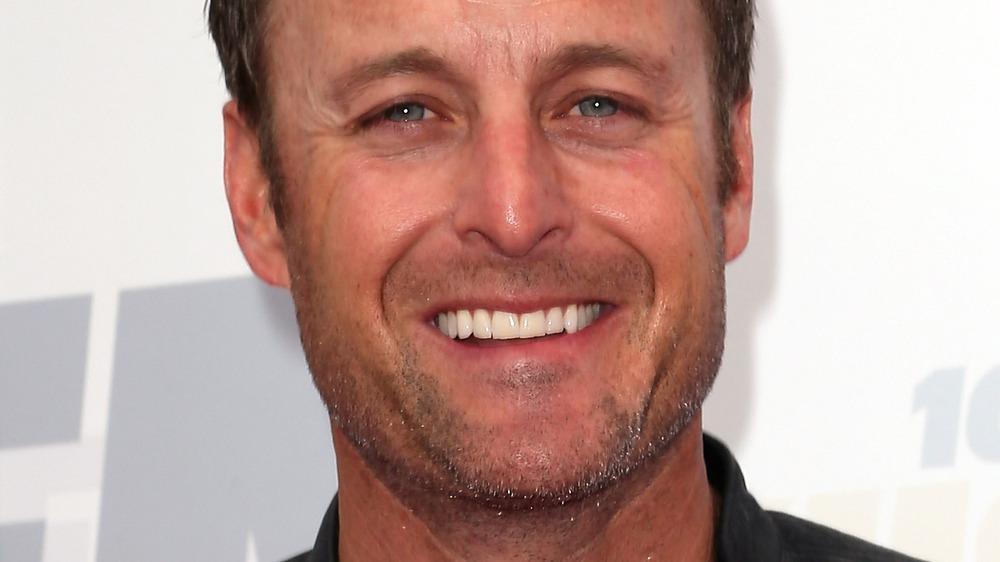 Bachelor host Chris Harrison smiling