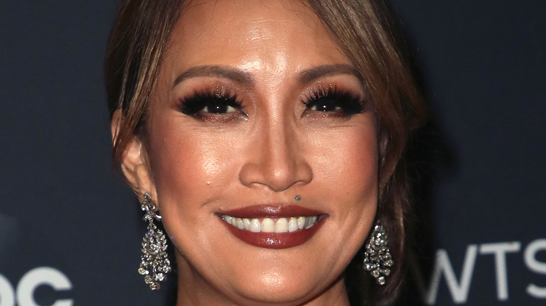 Carrie Ann Inaba smiles