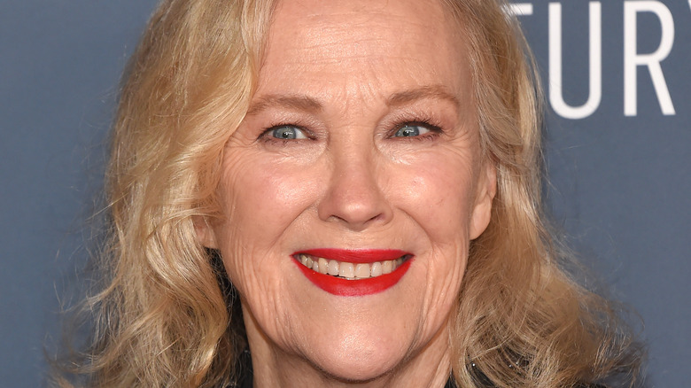 Catherine O'Hara smiling at event