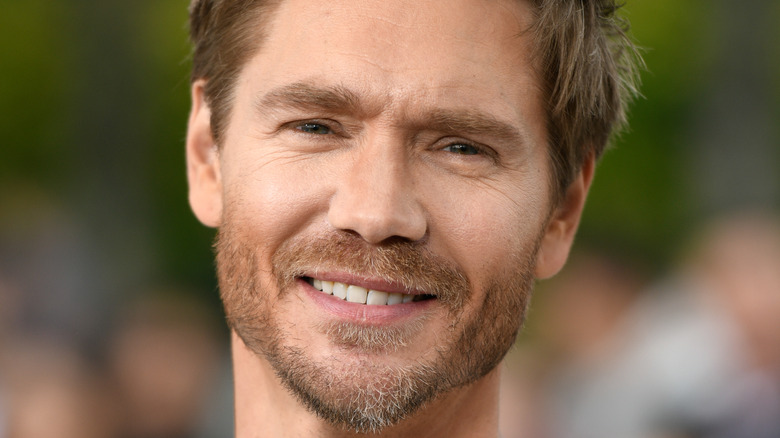 Actor Chad Michael Murray at an event.