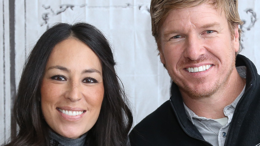 Chip and Joanna Gaines at an event