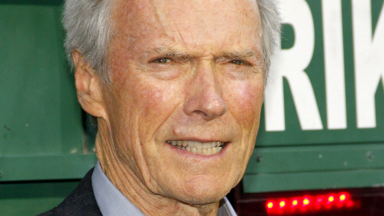 """Clint Eastwood attends the premiere of his film """"The Trouble with the Curve"""""""