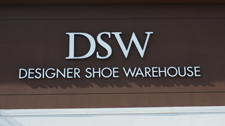 DSW store sign in daylight
