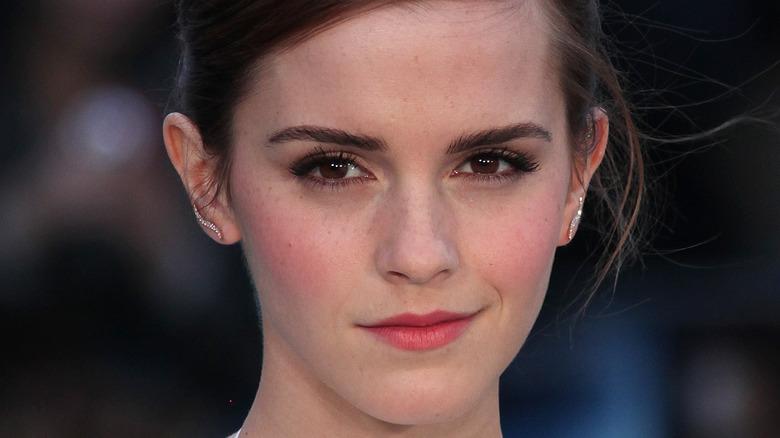 Emma Watson attending an event