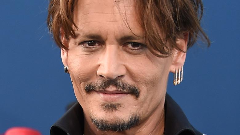 Johnny Depp at event