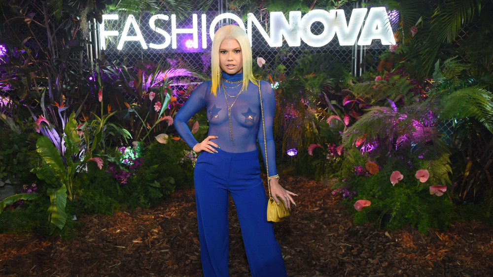 Chanel West Coast at an event
