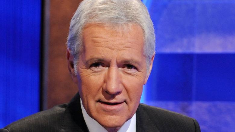 Alex Trebek hosts Jeopardy!