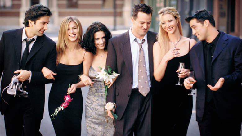 """The cast of """"Friends"""""""