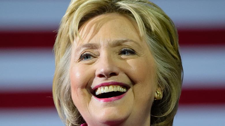 Hillary Clinton big smile