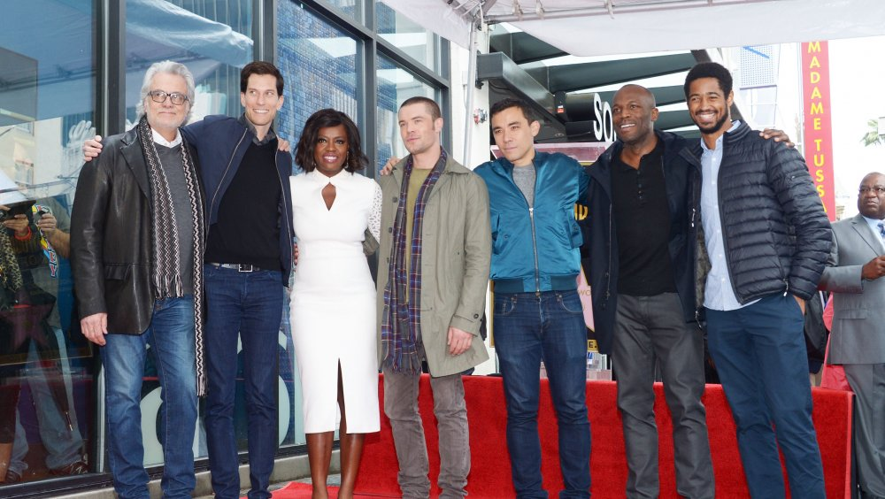 The cast of How to Get Away with Murder